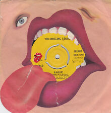 THE ROLLING STONES -ANGIE / SILVER TRAIN  -GREEK 7''