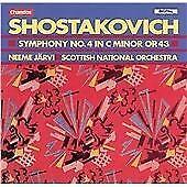 Dmitry Shostakovich - Symphony No. 4 in C minor, Op. 43 - Neeme Jarvi