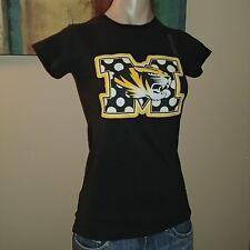 Missouri Tigers Football Blk Press Box Pressbox Royce Small Sm Ladies Tee Shirt