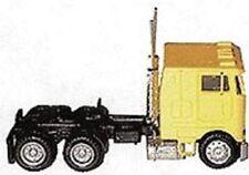 Herpa # 25246 Peterbilt 362E Cabover w/Dual Rear Axles - Assembled Yellow HO MIB