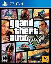 * NEW-Sealed * Grand Theft Auto VGTA V 5 Sony PlayStation 4 PS4