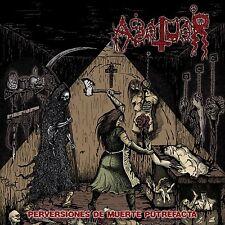 Abatuar - Perversiones De Muerte Putrefacta + Poster, Black Edition (Pan), LP