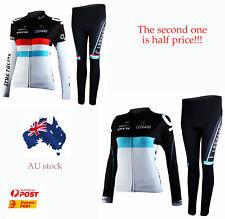 Sports Bicycle Bike Cycling Women Clothing Long Sleeve Jersey Pant Set