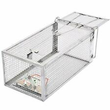 Humane Live Cage Trap Animals Rat Squirrel Chipmunk Rodent Trampa para Ratones L