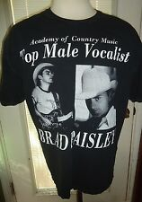 MENS ACADEMY OF COUNTRY MUSIC TOP MALE VOLCALIST /BRAD PAISLEY SHIRT SIZE XL
