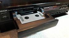 Elite Denon DRR-780 Vintage Horizontal Tray Front Loading Cassette Tape Deck