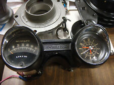 ORIGINAL1965 FORD MUSTANG rally pac 6000 rpm shelby gt fastbackGT350 TACHOMETER