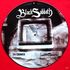 """Black Sabath Picture Disc Record 12"""" LP  TV Crimes"""