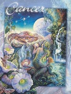 """CANCER"" - JOSEPHINE WALL GREETING CARD"