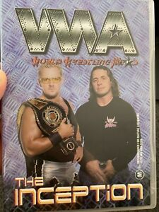 WWA Inception region 4 DVD (2001 Australian pro wrestling event / wwe / wcw)