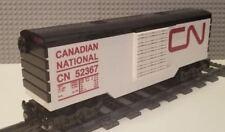 Lego Train Boxcar Canadian National  -- PLEASE READ ITEM DESCRIPTION --