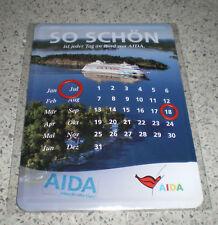 aida-dauerkalender AUS metall-neu en embalaje original