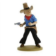 TIM & STRUPPI Tintin Tim als Cowboy Figur MOULINSART ca. 11cm NEU (L)*