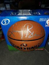 Larry Bird Boston Celtics Autographed/Signed Spalding Basketball Beckett see pic