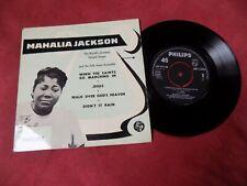 "MAHALIA JACKSON When the saints go marching in 7"" EP 1960's POP BLUES"