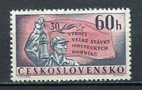 37106) Czechoslovakia 1962 MNH Miners' Strike At Most 1v