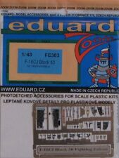 Eduard 1/48 FE383 Colour Zoom etch for the Tamiya F-16CJ Fighting Falcon kit