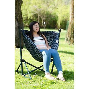 Ozark Trail Steel Folding Hammock Swinging Chair Portable -  FREE SHIPPING