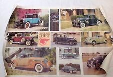 Vintage Car Poster Pontiac Chief