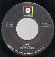Northern Soul Mod Nova's Nine Pain Why Listen ABC 45 PLAYGRADED