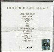 VASCO ROSSI the singles collection - tour edition 10CD SINGOLI SIGILLATO N°00850
