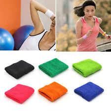 New  Unisex Cotton Sweat Band Sweatband Wristband Arm Band Basketball1 PCS