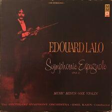 Édouard Lalo - Symphonie Espagnole / VG / LP