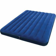 Intex 68759E Classic Downy Airbed Queen - Blue