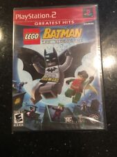 Lego Batman Video Game Playstation 2 Greatest Hits PS2 Brand New Factory Sealed