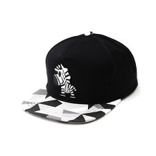 Unisex Mens Zebra Horse Paper Folding Origami Baseball Cap Snapback Hats Black