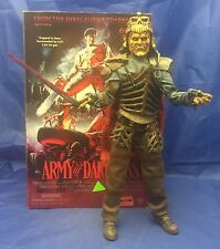 "Army of Darkness EVIL ASH 1/6 12"" Sideshow Figure MIB Dead Bruce Campbell"