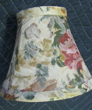 4 PCs Fabric Mini Floral Multi color-Lamp Shades 6-1/8'' X 3-1/8'' X 5''