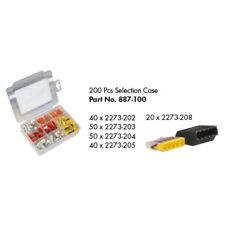 Wago Série 887-100 - 2273 Push Wire Connecteurs sélection Case