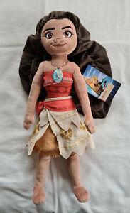 "Disney Store Moana Medium 19"" Plush Doll Toy New With Tags"