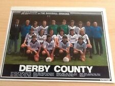 Derby County Surname Initial D Football Prints