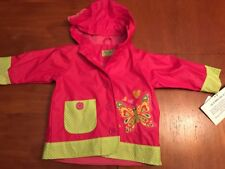 NEW Western Chief Girls Rain Coat Butterfly  2T