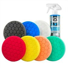 "Chemical Guys Hex-Logic 6.5"" Best Buffing Pads Kit 8 Items BUF_HEXKITS_8"