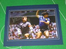 England Peter Shilton Signed Maradona 'Hand of God' 1986 World Cup Photograph