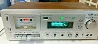 AKAI CS-M40R Stereo Cassette Deck - Sold As Is