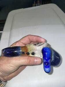 heady Glass hammer bubbler hookah water pipe bong spoon American made glass art