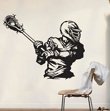 Vinyl Wall Decals Lacrosse Gifts Poster Stickers Decor Party Mural