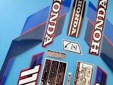 ATC 110 Honda Stickers Set Warning Advice Vintage Trike 1984 Sticker/Decals