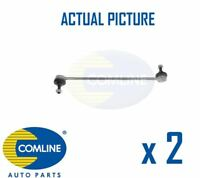 2 x NEW COMLINE FRONT DROP LINK ANTI ROLL BAR PAIR OE QUALITY CSL7008