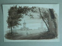 Xixth Antique Drawing Choose Lavis All Headlights of The Heve After Garnerey