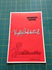 Highly Confidential : Cambridge Theatre