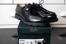 Paraboot Michael Size 8/42 Black Glossy New in Box