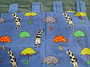 IKEA CURTAINS TAB TOP CATS AND DOGS