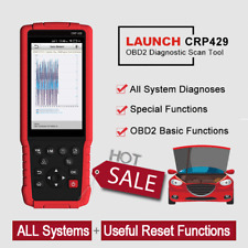 LAUNCH X431 PRO CRP429 Full Systems OBD2 Diagnostic Scanner IMMO Injector Coding
