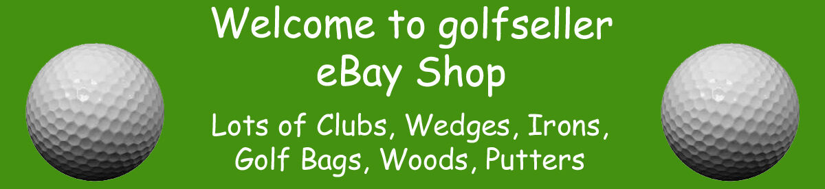 Golf Clubs, Wedges, Woods, Bags,
