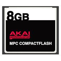 8GB Akai MPC CompactFlash CF Memory Card for MPC500, MPC1000, MPC2500 + more